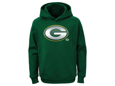 Green Bay Packers Outerstuff NFL Youth Chrome Performance Hoodie