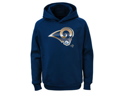 Los Angeles Rams Outerstuff NFL Youth Chrome Performance Hoodie