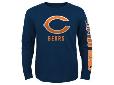 Chicago Bears Outerstuff NFL Youth Long Sleeve Hourglass T-Shirt
