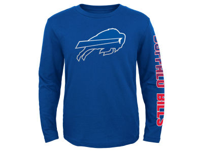 Buffalo Bills Outerstuff NFL Youth Long Sleeve Hourglass T-Shirt
