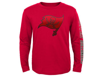 Tampa Bay Buccaneers Outerstuff NFL Youth Long Sleeve Hourglass T-Shirt