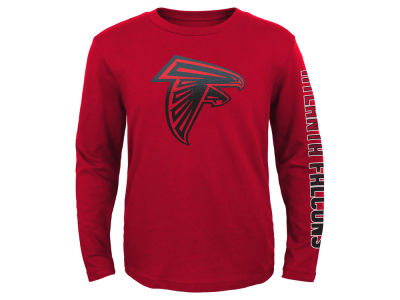 Atlanta Falcons Outerstuff NFL Youth Long Sleeve Hourglass T-Shirt