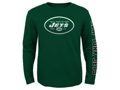 New York Jets Outerstuff NFL Youth Long Sleeve Hourglass T-Shirt