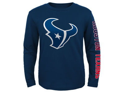Houston Texans Outerstuff NFL Youth Long Sleeve Hourglass T-Shirt
