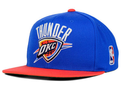 Oklahoma City Thunder Mitchell and Ness NBA XL Logo Snapback Cap