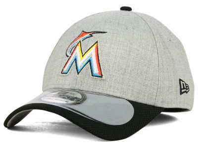 Miami Marlins New Era MLB 2015 Clubhouse 39THIRTY Cap