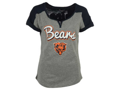 Chicago Bears 5th & Ocean NFL Women's Rolled Sleeve T-Shirt