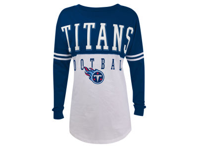 Tennessee Titans 5th & Ocean NFL Women's Sweeper Long Sleeve T-Shirt