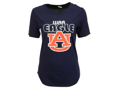 Auburn Tigers NCAA Women's 60/40 Crew T-Shirt