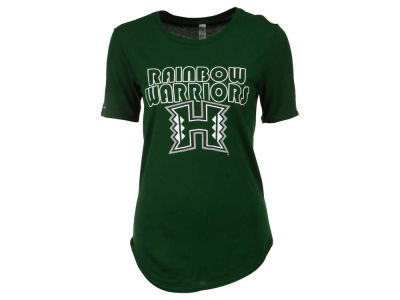 Hawaii Warriors NCAA Women's 60/40 Crew T-Shirt
