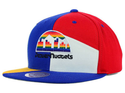 Denver Nuggets Mitchell and Ness NBA Cut & Sew Snapback Cap