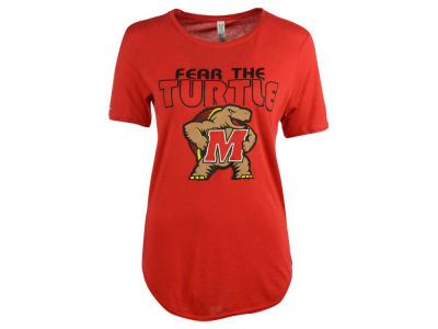 Maryland Terrapins NCAA Women's 60/40 Crew T-Shirt