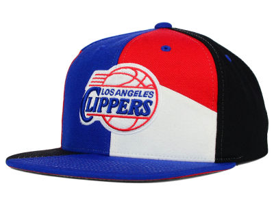Los Angeles Clippers Mitchell and Ness NBA Cut & Sew Snapback Cap
