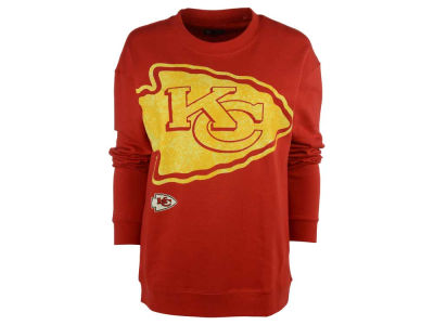 Kansas City Chiefs NFL Women's Athletic Crew Sweatshirt