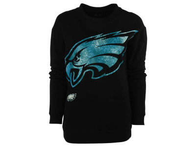 Philadelphia Eagles NFL Women's Athletic Crew Sweatshirt