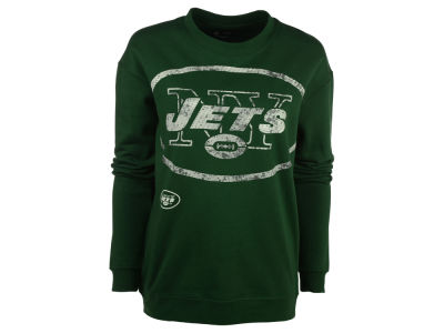 New York Jets NFL Women's Athletic Crew Sweatshirt