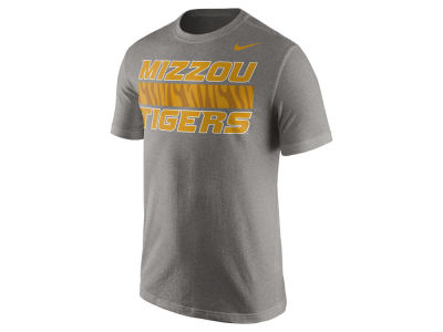Missouri Tigers Nike NCAA Men's Cotton Team Stripe T-Shirt