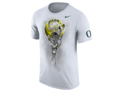 Oregon Ducks Nike NCAA Men's Triblend Helmet T-Shirt