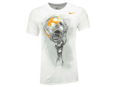 Tennessee Volunteers Nike NCAA Men's Triblend Helmet T-Shirt