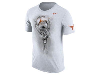 Texas Longhorns Nike NCAA Men's Triblend Helmet T-Shirt