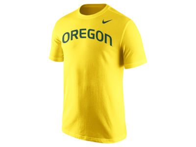 Oregon Ducks Nike NCAA Men's Cotton Wordmark T-Shirt