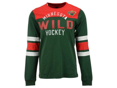 Minnesota Wild NHL Men's Flying Ice Long Sleeve Shirt