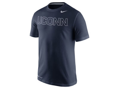 Connecticut Huskies Nike NCAA Men's Dri-Fit Cotton Travel T-Shirt