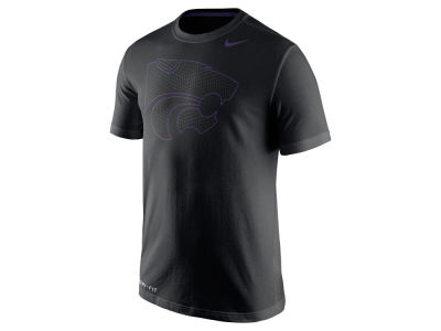 Kansas State Wildcats Nike NCAA Men's Dri-Fit Cotton Travel T-Shirt