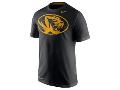 Missouri Tigers Nike NCAA Men's Dri-Fit Cotton Travel T-Shirt