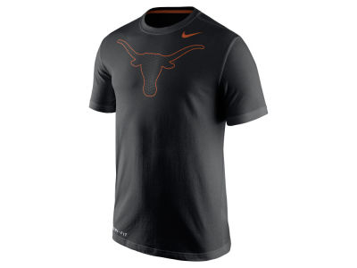 Texas Longhorns Nike NCAA Men's Dri-Fit Cotton Travel T-Shirt