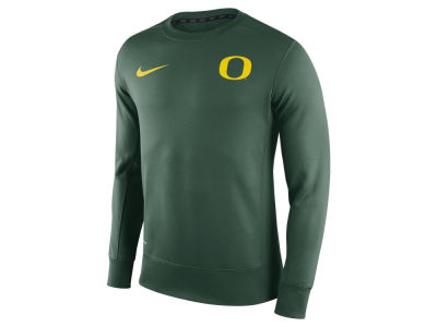 Oregon Ducks Nike NCAA Men's Sideline KO Fleece Crew Neck Sweatshirt