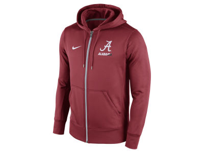 Alabama Crimson Tide Nike NCAA Men's Sideline KO Full Zip Hoodie