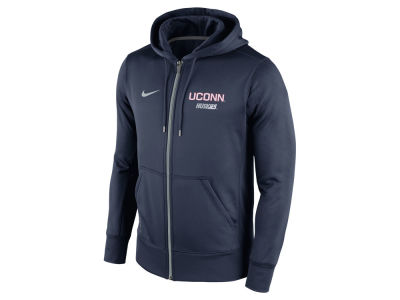 Connecticut Huskies Nike NCAA Men's Sideline KO Full Zip Hoodie