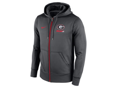 Georgia Bulldogs Nike NCAA Men's Sideline KO Full Zip Hoodie
