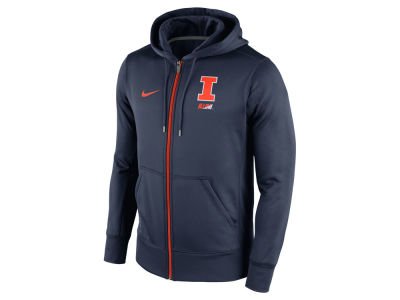 Illinois Fighting Illini Nike NCAA Men's Sideline KO Full Zip Hoodie