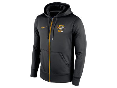 Missouri Tigers Nike NCAA Men's Sideline KO Full Zip Hoodie