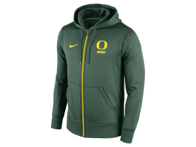 Oregon Ducks Nike NCAA Men's Sideline KO Full Zip Hoodie