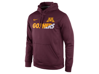Minnesota Golden Gophers Nike NCAA Men's Sideline KO Hoodie