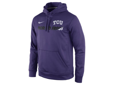 Texas Christian Horned Frogs Nike NCAA Men's Sideline KO Hoodie