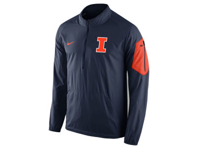 Illinois Fighting Illini Nike NCAA Men's Lockdown Half Zip Jacket
