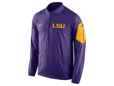 LSU Tigers Nike NCAA Men's Lockdown Half Zip Jacket
