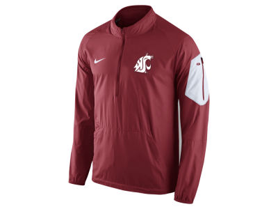 Washington State Cougars Nike NCAA Men's Lockdown Half Zip Jacket