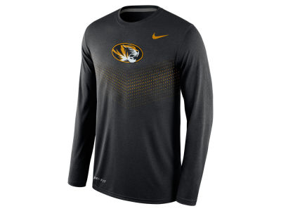 Missouri Tigers Nike NCAA Men's Legend Long Sleeve Sideline T-Shirt
