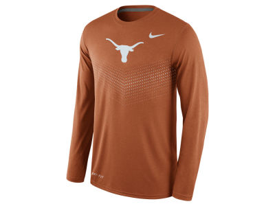 Texas Longhorns Nike NCAA Men's Legend Long Sleeve Sideline T-Shirt