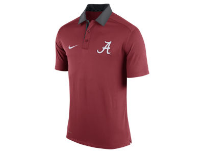 Alabama Crimson Tide Nike NCAA Men's 2015 Elite Coaches Polo Shirt