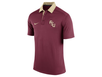 Florida State Seminoles Nike NCAA Men's 2015 Elite Coaches Polo Shirt