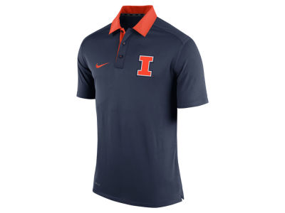 Illinois Fighting Illini Nike NCAA Men's 2015 Elite Coaches Polo Shirt
