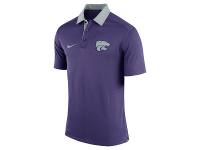 Kansas State Wildcats Nike NCAA Men's 2015 Elite Coaches Polo Shirt