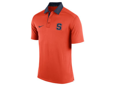 Syracuse Orange Nike NCAA Men's 2015 Elite Coaches Polo Shirt