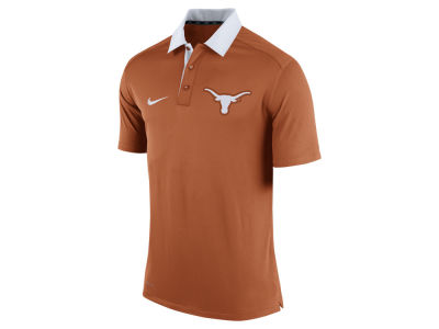 Texas Longhorns Nike NCAA Men's 2015 Elite Coaches Polo Shirt